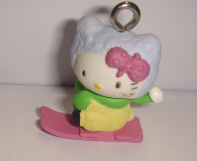foto - HELLO KITTY SU SKATEBOARD