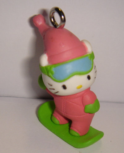 foto - HELLO KITTY SU SKATE BOARD VERDE