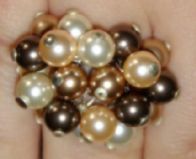 foto - ANELLO CHARMS MARRONE