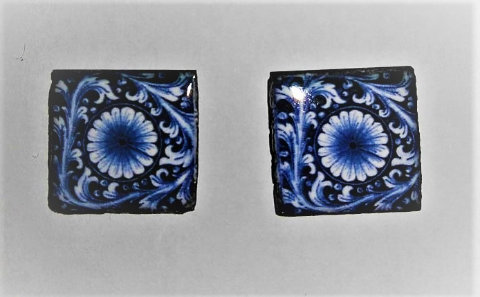 Piastrelle In Pietra Lavica : Piastrella in pietra lavica blu creazioni fantasia